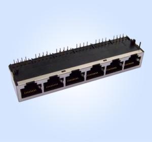 HL5901 1X6 10P8C Shielded