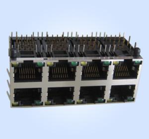 HL59SL01-2X4-8P8C -LED