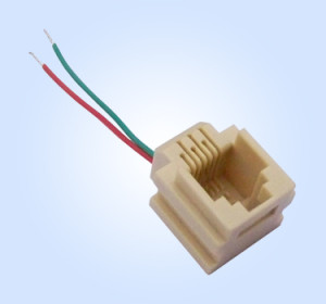 RJ11 Wired Jack 6P2C