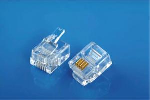 Modular Plug 8P8C Flat Cable Entry