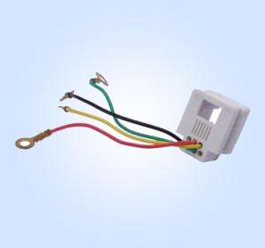 Wire Jack 623K-CT 6P4C