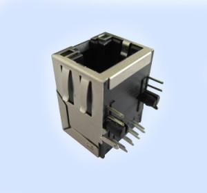 Tab Up Magnetic Jack w/ Transformer