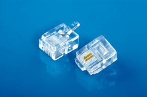 Modular Plug 6P2C DEC Type / Left Postition 3.4. PIN