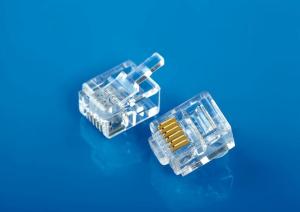 Modular Plug 6P6C DEC Type / Left Latched