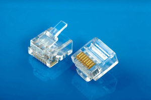 Modular Plug 8P8C Short body 2 Layers Cat6e