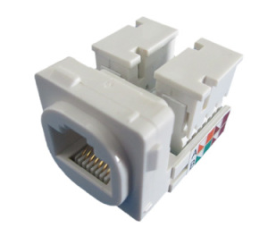 Enhance Cat.5E Dual Type Keystone Jack
